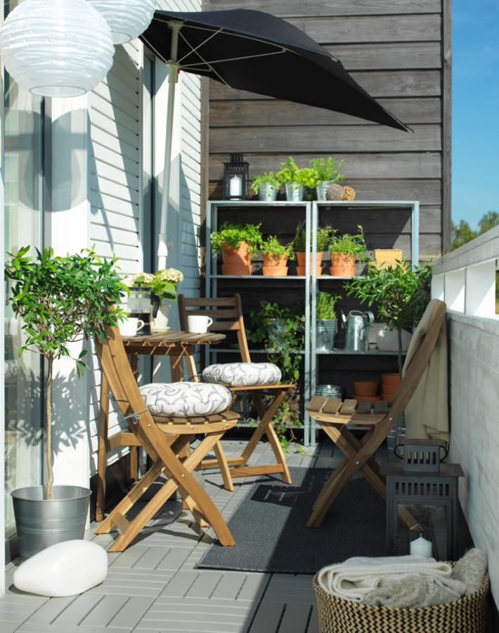 Pequeños balcones con grandes soluciones