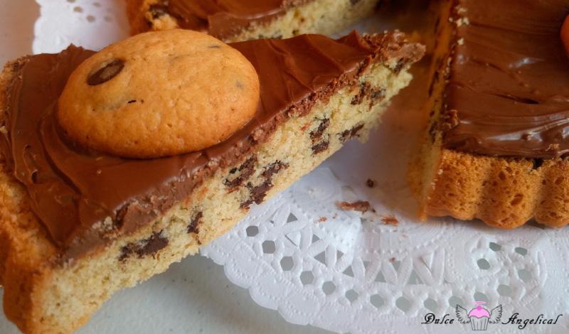 Deliciosa galleta gigante con Nocilla