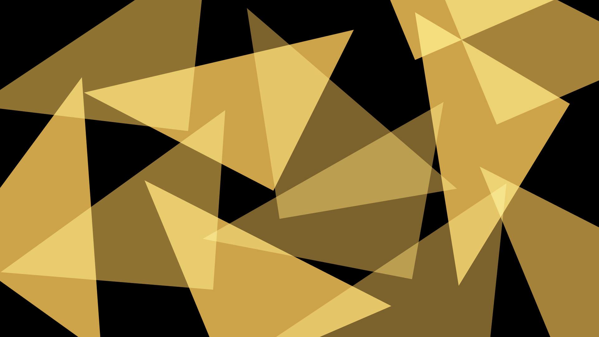 black gold triangle