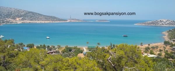 Bogsak Bay and Bogsak Pansiyon, Turkey