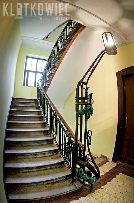 Kraków: niezwykłe zwieńczenie schodów