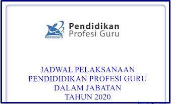 Jadwal Penerimaan PPG Daljab Tahun 2020