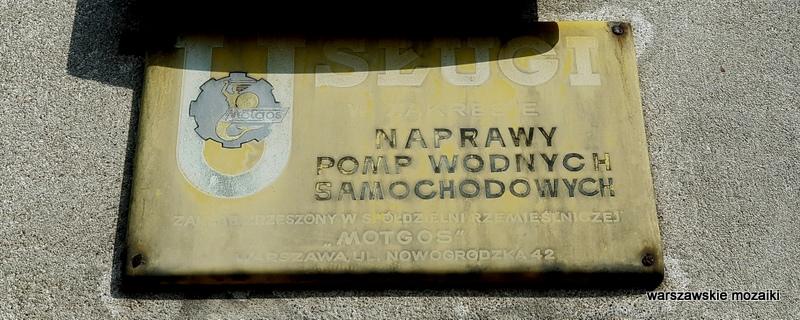 Warszawa Warsaw retro szyld warszawskie szyldy Witolin Praga Południe