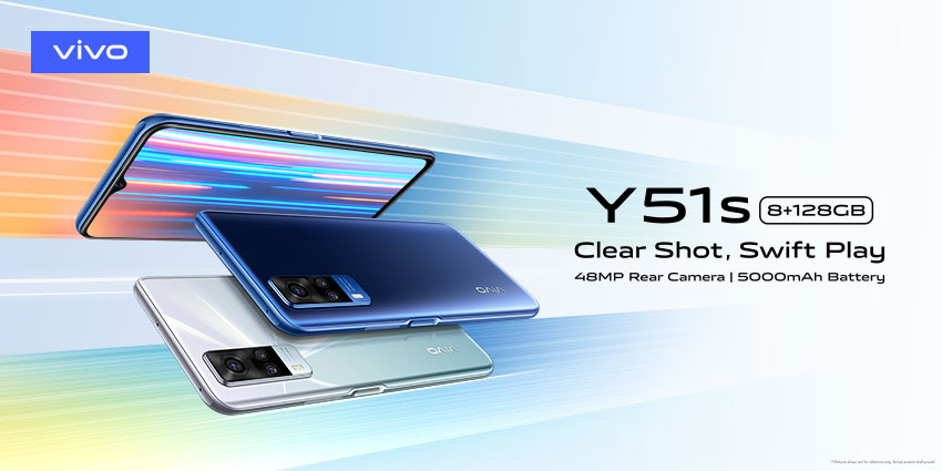 vivo Introduces Y51s For Clear Shots & Swift Performance