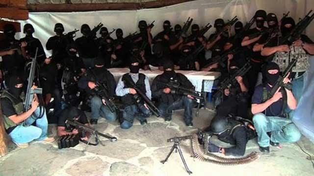 Kartel Teluk mendirikan kelompok bersenjata Los Zetas