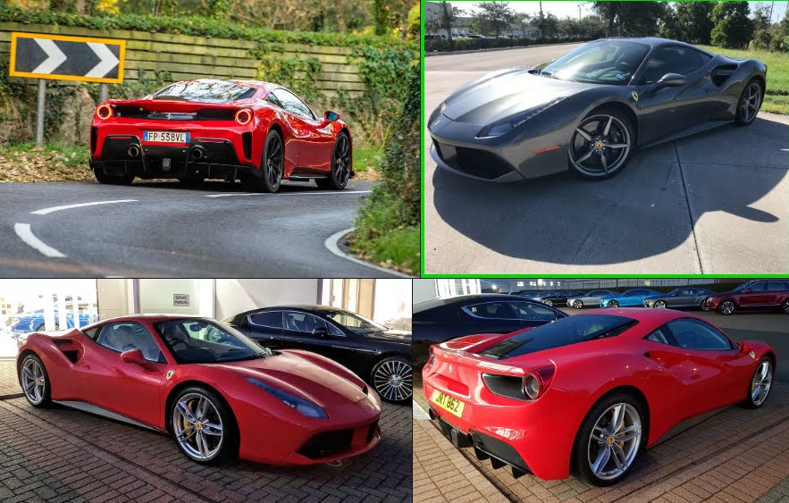 Richiamo Supercar per le Ferrari 488 GTB e 488 Spider