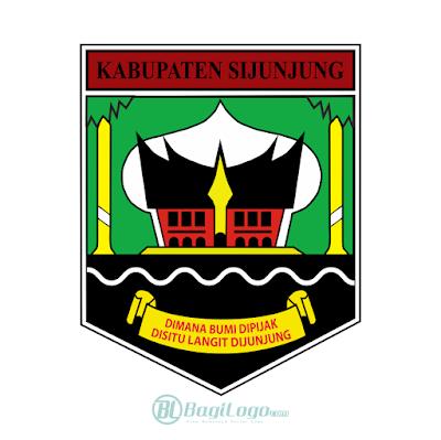 Kabupaten Sijunjung Logo Vector