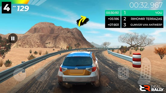 Real Rally Apk+Data Free on Android Game Download