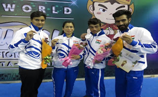 India wins four bronze medals in Wushu at 2018 Asian Games