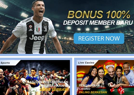 Agen Judi Bola Online Bonus Deposit Harian 10%