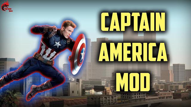 GTA San Andreas Captain America Mod Latest Version