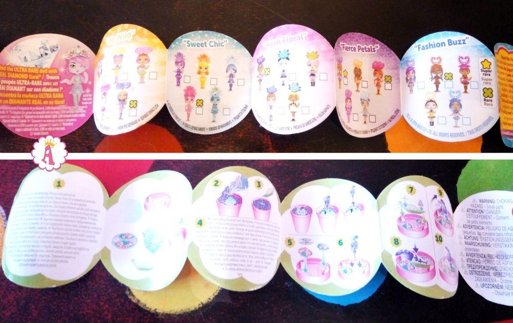 Вся коллекция кукол дюймовочек из цветочного горшочка Awesome Bloss'ems