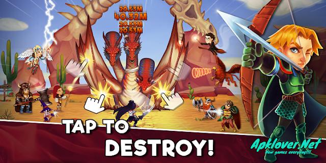Taps Dragons MOD APK unlimited money