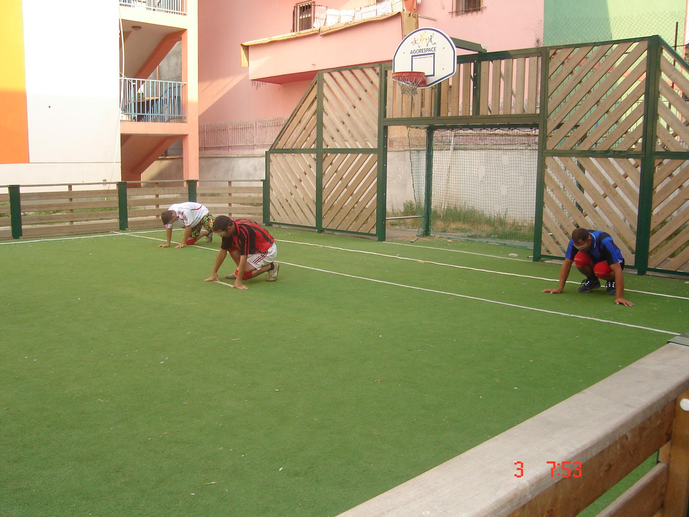 Goal Ball, trajnimi nga Kosova