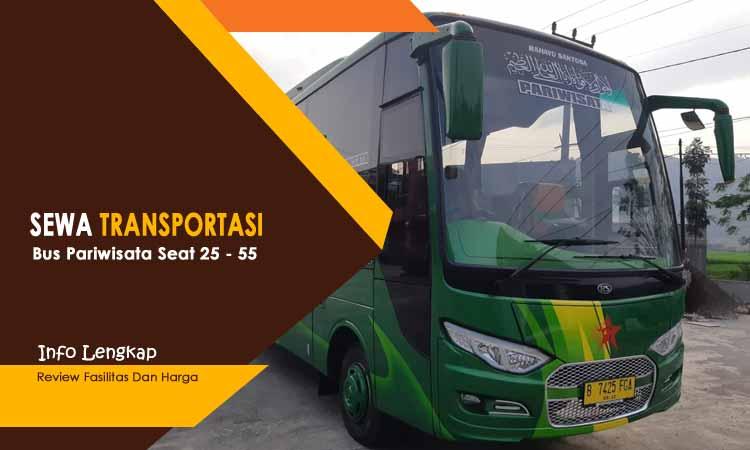 Bus Pariwisata Bandung Dengan Fasilitas Lengkap
