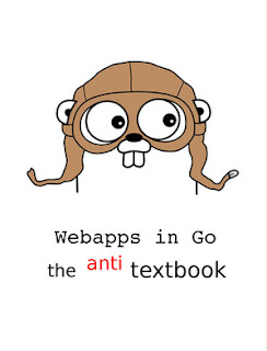 Web app with go - anti text book