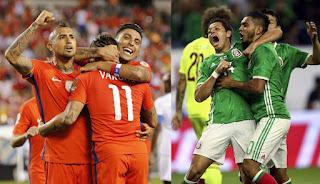 México vs Chile en Copa Amèrica Centenario
