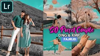 20 Preset Lightroom Couple Terbaik DNG & XMP
