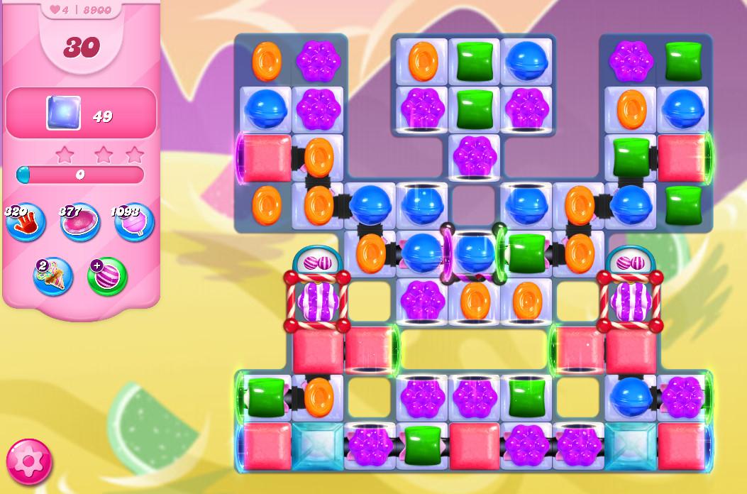 Candy Crush Saga level 8900