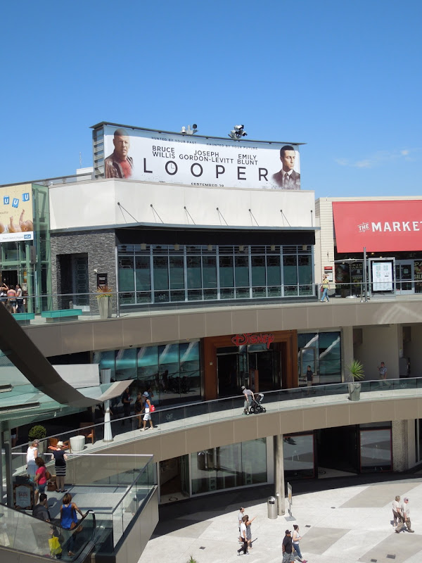Looper movie billboard Santa Monica