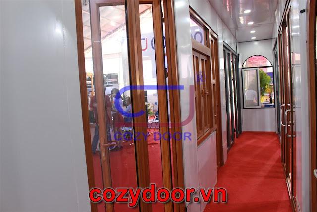 Cửa nhôm Cozydoor cao cấp