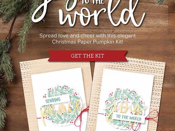 Paper Pumpkin Christmas Kit
