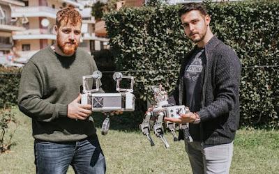 Οι δυο τελειόφοιτοι ηλεκτρολόγοι μηχανικοί που δημιούργησαν ένα ρομποτικό σύστημα Γεωργίας Ακριβείας