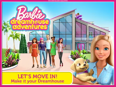 Barbie Dreamhouse Adventures v6.0 Mod (Unlock All, Unlimited Vip Gift)