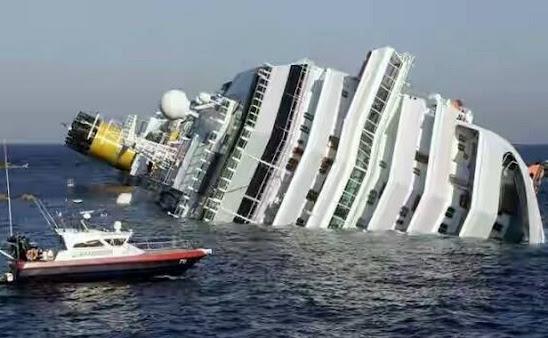 Tenggelamnya Kapal Pesiar