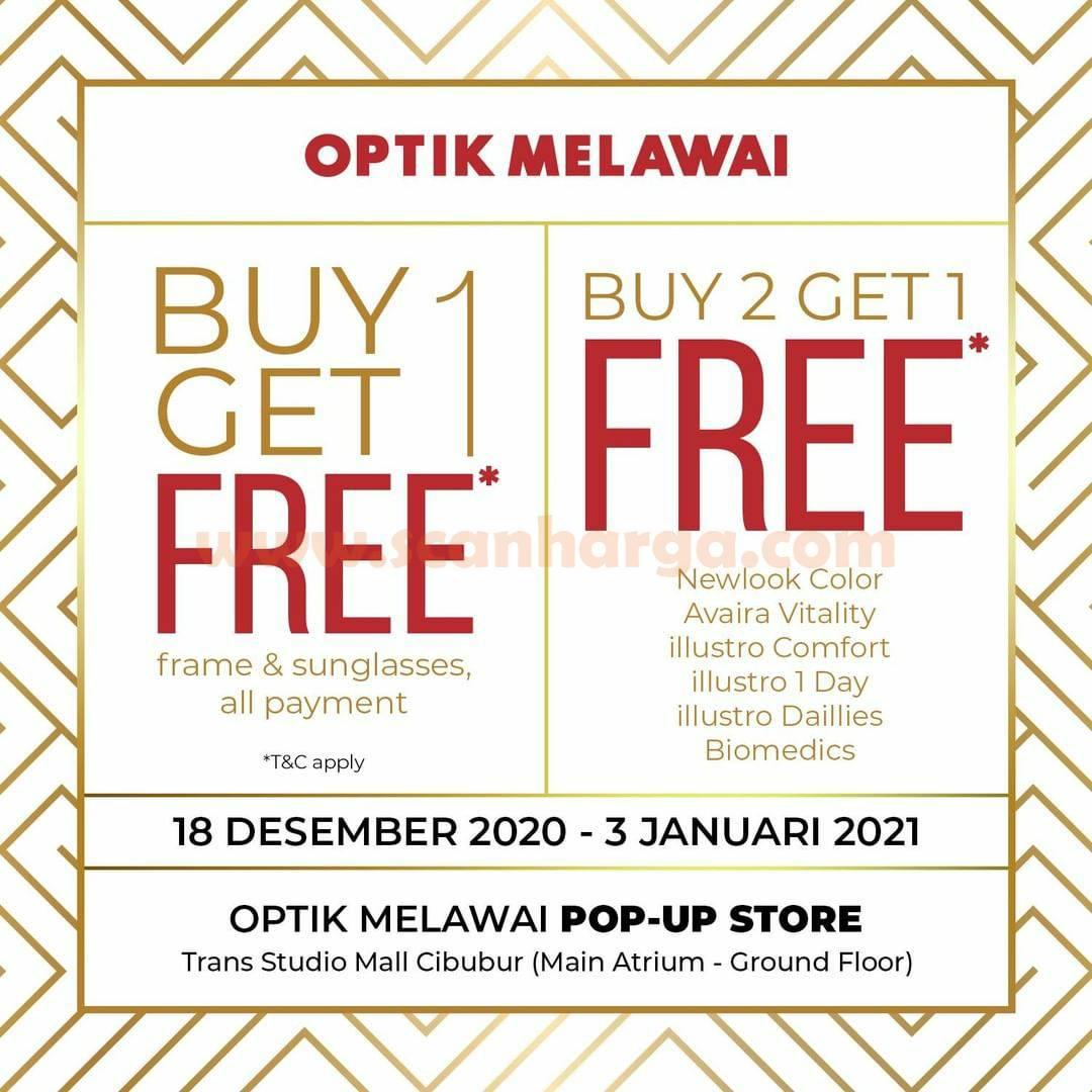 Optik Melawai Pop-Up Store! Buy 1 Get 1 Free Frame & Sunglasses