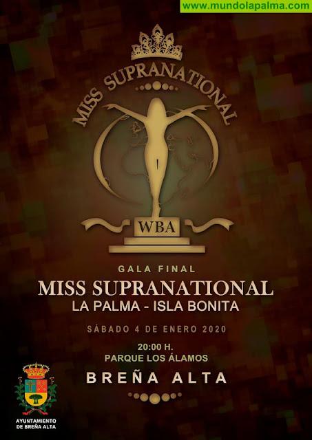 La Final Insular del certamen de belleza 'Miss Supranational' se celebrará, por primera vez, este sábado en Breña Alta
