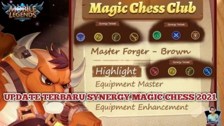 Latest update from Synergy Magic Chess 2021