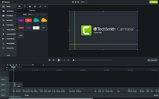 Screenshot TechSmith Camtasia 2019.0.10 Build 17662 (x64) Full Version