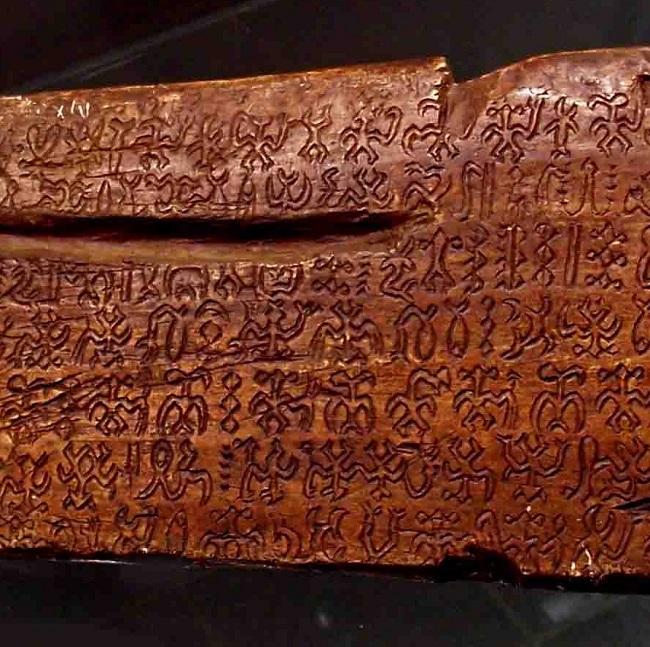 Seis materiales, seis escrituras