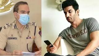 sushant singh rajput's case Mumbai Police Commissioner Pamabeer singh