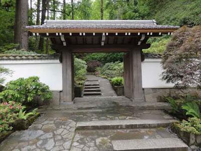Portland Japanese Garden gate