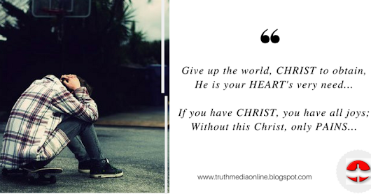 Give Up The World, Christ To Obtain