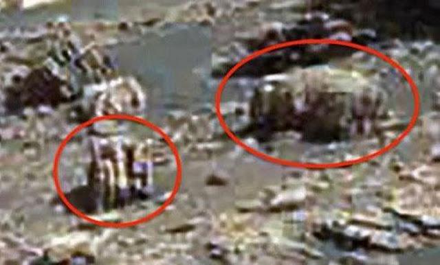Tìm thấy thiết bị cơ khí của người ngoài hành tinh trên sao Hỏa