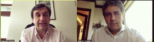 Alejandro Caroca - Alejandro Santana