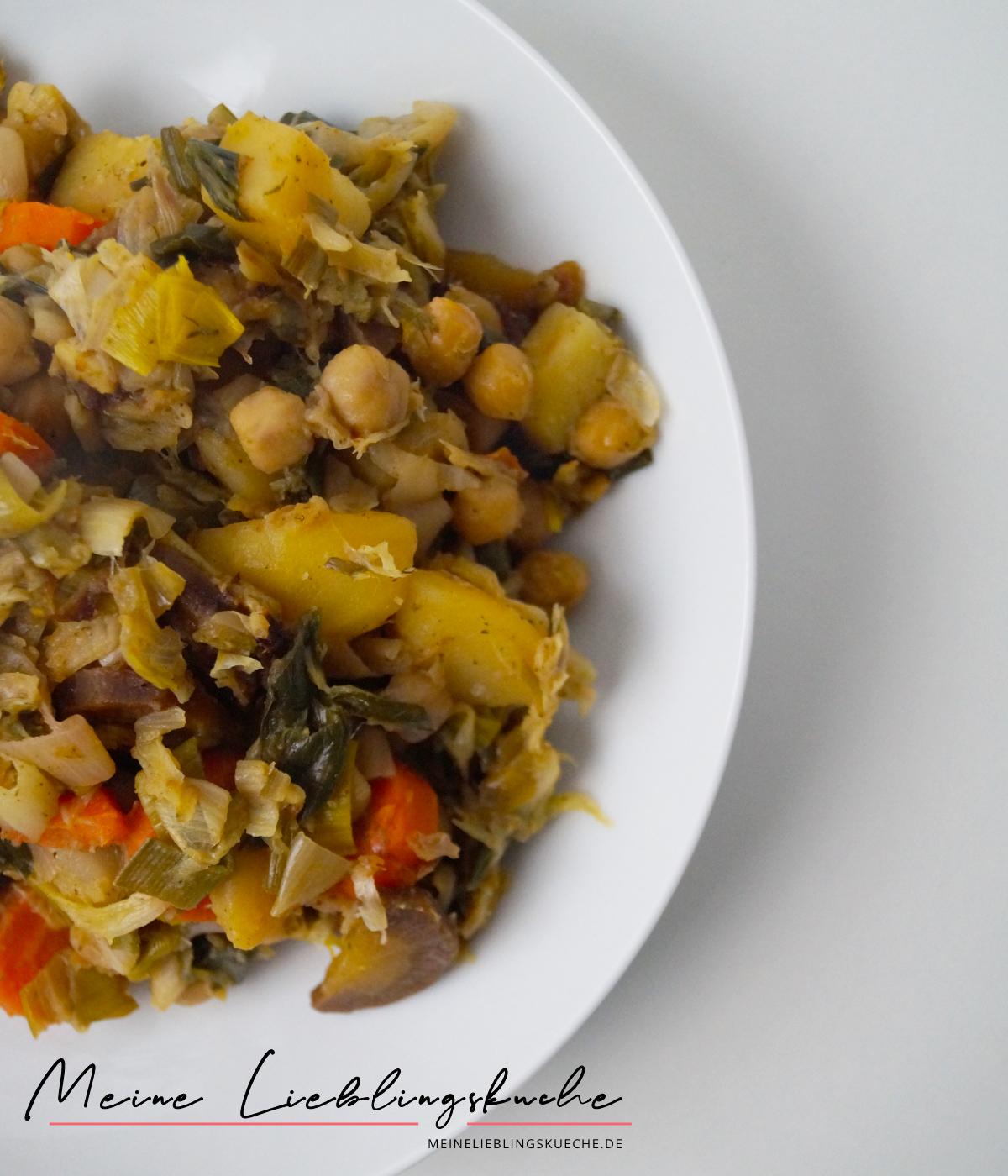 Chinakohl-Pfanne mit buntem Gemüse