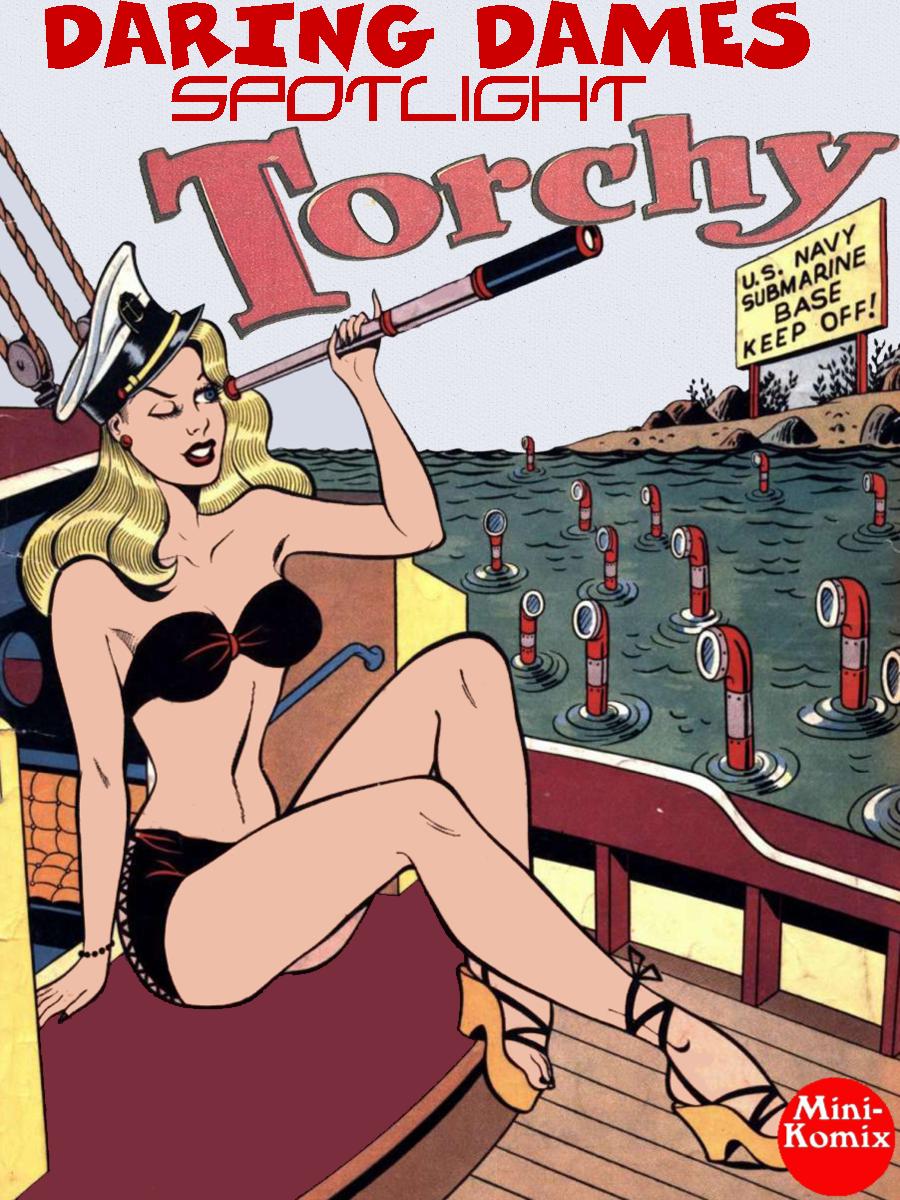 Animated Sexy Stories mini-komix: daring dames spotlight: torchy