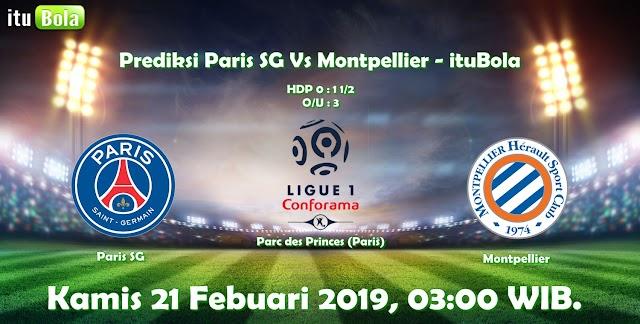 Prediksi Paris SG Vs Montpellier - ituBola