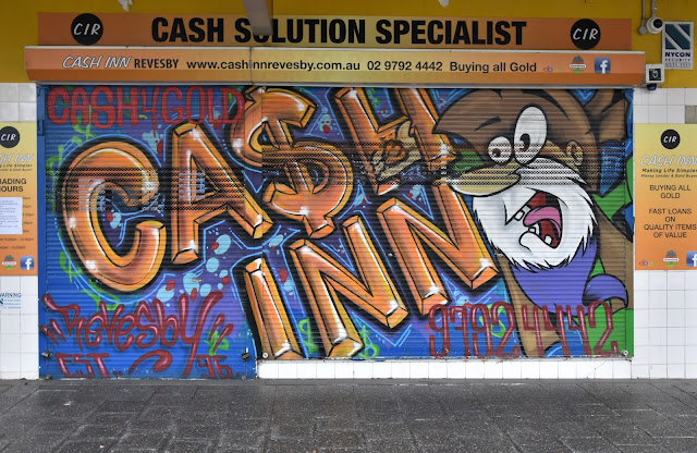 Revesby Street Art | Cash Inn Revesby
