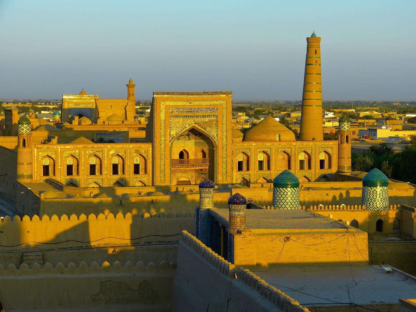 Le Chameau Bleu - OUzbékistan- Asie Centrale
