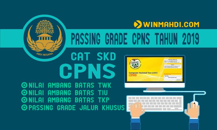 Passing Grade CPNS Tahun 2019