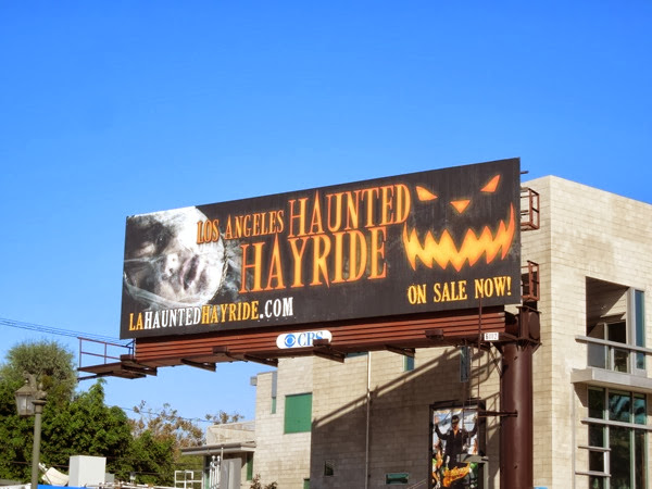 Los Angeles Haunted Hayride billboard 2013