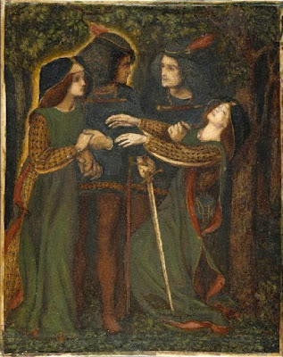 Dante Gabriel Rossetti - How They Met Themselves