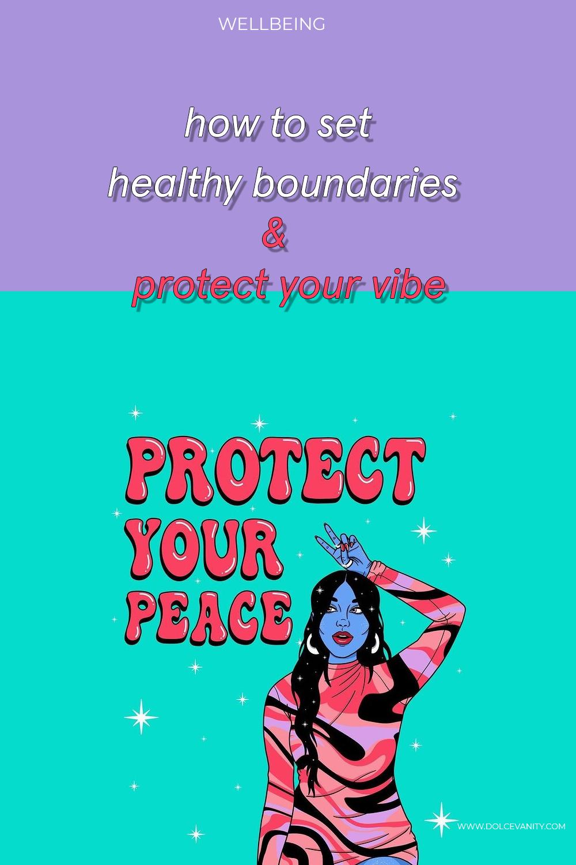 create healthy boundaries