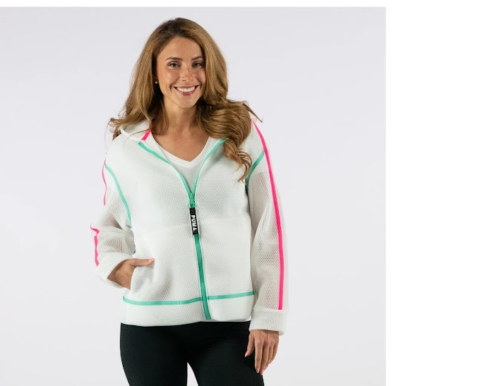 PUMA Women's Chase Spacer Zip-Up Hoodie