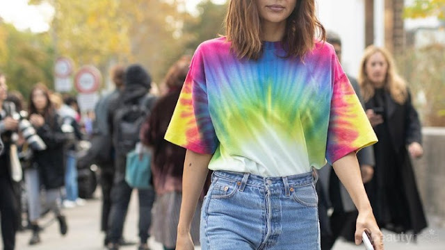 Cara Menghasilkan Uang Dari Membuat Kaos Tie Dye